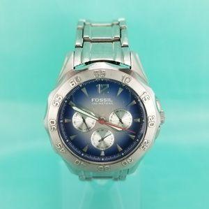 FOSSIL Blue BQ-9257 Watch w\ Day-Date Chronograph